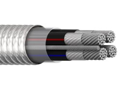 Imagen de CABLE ALUMINIO MULTICONDUCTOR S8000 4C 1/0AWG + 1TF 4 AWG
